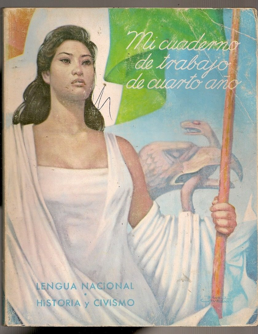 Libro Texto Cua Primaria Sep Lengua Historia Cuarto Año 1966 ...