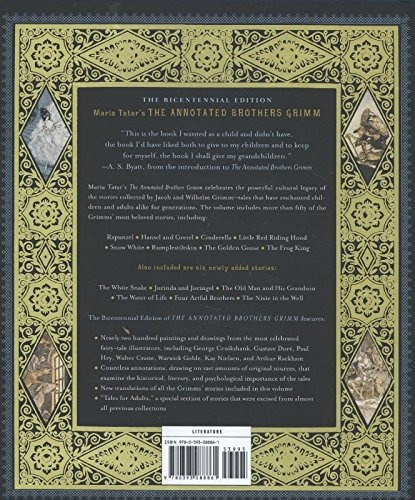 libro the annotated brothers grimm - nuevo