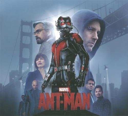 libro the art of ant-man - nuevo