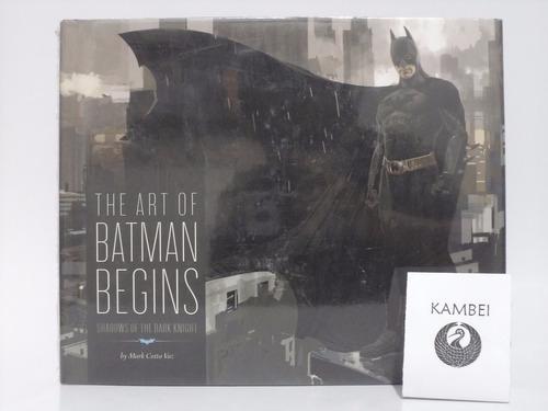libro the art of batman begins chronicle books 2005