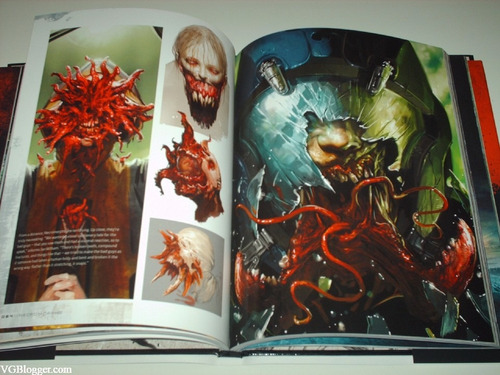 libro the art of dead space colección arte conceptual book