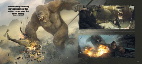 libro: the art of kong - skull island
