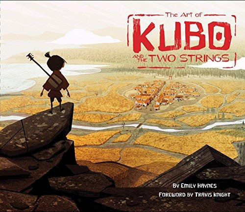 libro the art of kubo and the two strings - nuevo