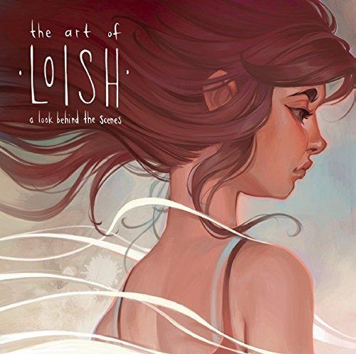 libro the art of loish: a look behind the scenes - nuevo