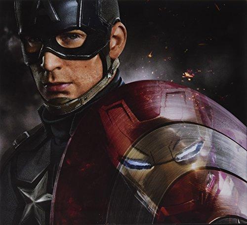 libro the art of marvel captain america civil war - nuevo