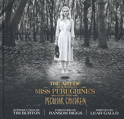 libro the art of miss peregrine's home for peculiar children
