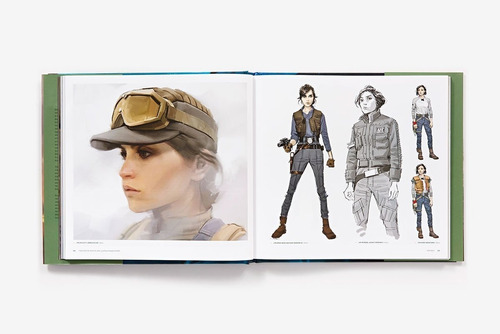 libro the art of rogue one: a star wars story