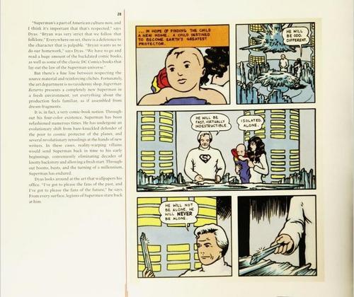 libro: the art of superman returns ( en stock )