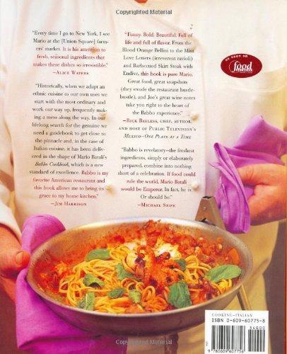 libro the babbo cookbook - nuevo