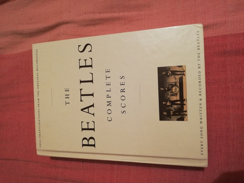 libro the beatles complete scores