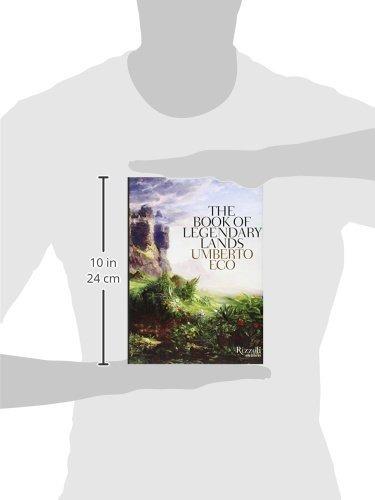 libro the book of legendary lands - nuevo