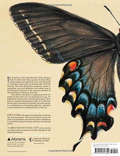 libro the butterflies of north america: titian peale's los