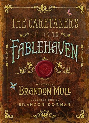 libro the caretaker's guide to fablehaven - nuevo
