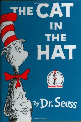 libro the cat in the hat - nuevo