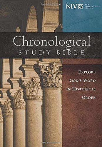 libro the chronological study bible: new international ver