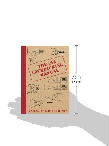libro the cia lockpicking manual - nuevo
