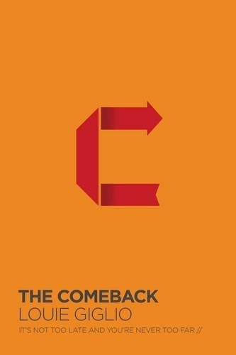 libro the comeback: it's not too late and you're never too