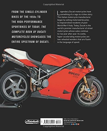 libro the complete book of ducati motorcycles: every model s