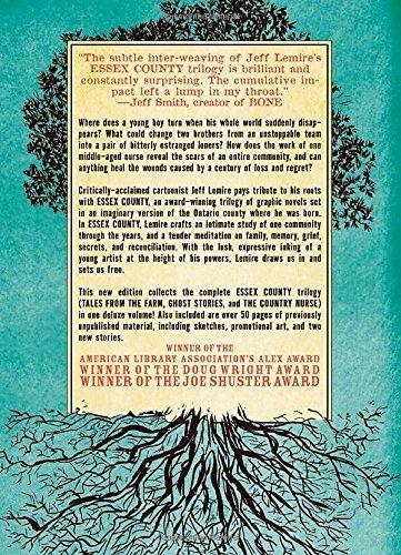 libro the complete essex county - nuevo
