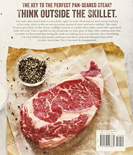 libro the cook's illustrated meat book: the game-changing gu