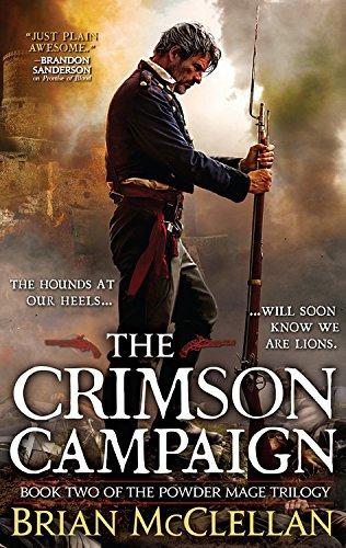 libro the crimson campaign - nuevo