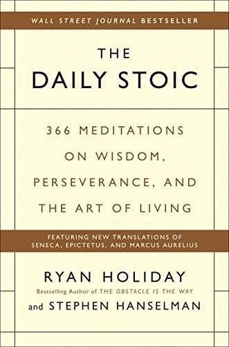 libro the daily stoic: 366 meditations on wisdom, perseveran