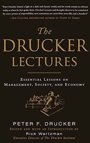 libro the drucker lectures: essential lessons on management,