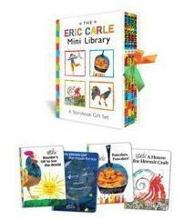 libro the eric carle mini library: a storybook gift set