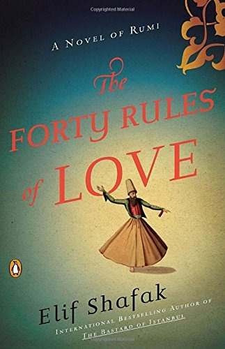 libro the forty rules of love: a novel of rumi - nuevo