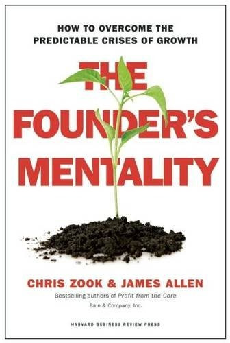 libro the founder's mentality: how to overcome the predictab