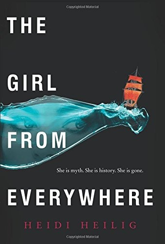 libro the girl from everywhere - nuevo