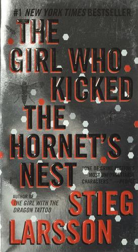libro the girl who kicked the hornet's nest - nuevo