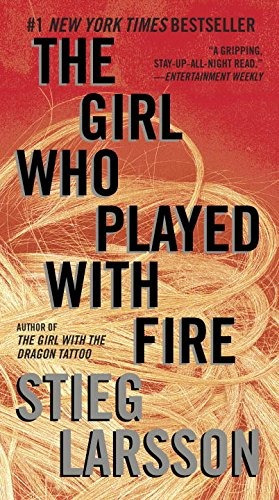 libro the girl who played with fire - nuevo