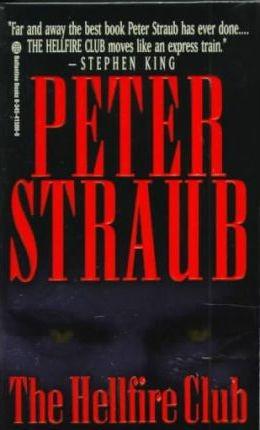 libro the hellfire club - peter straub (paperback)