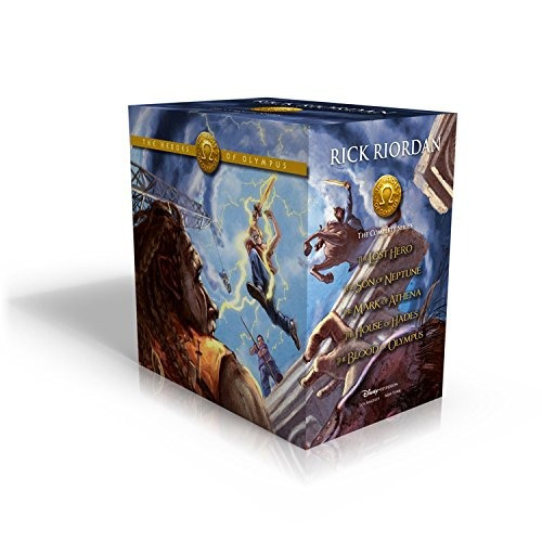libro the heroes of olympus boxed set - nuevo