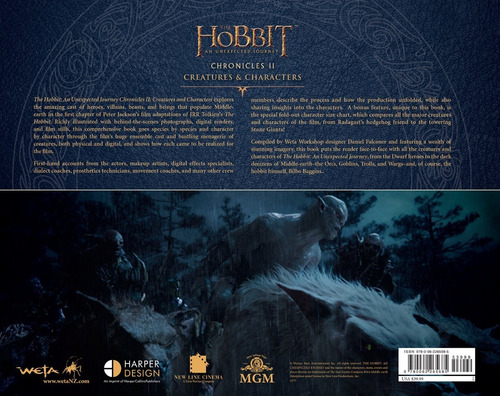 libro: the hobbit - an unexpected journey chronicles ii