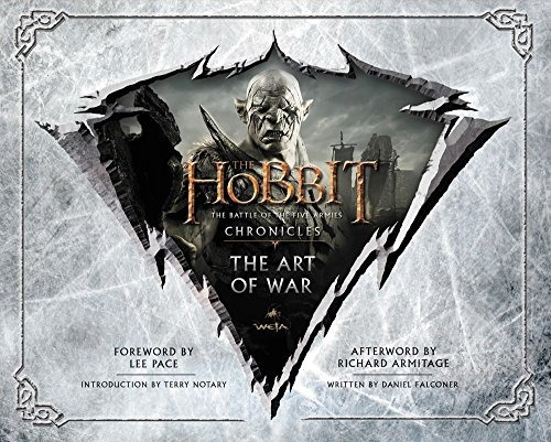 libro the hobbit: the  art of war the battle of the five arm