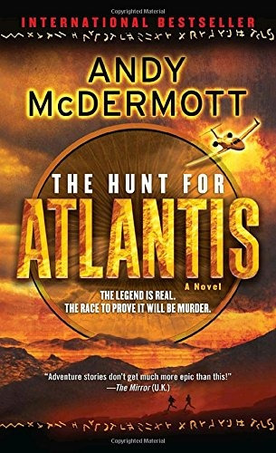 libro the hunt for atlantis - nuevo