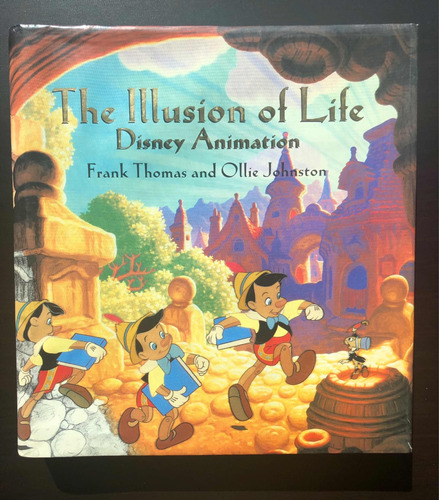 libro: the illusion of life. disney animation