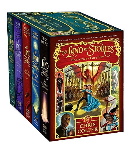 libro the land of stories complete gift set - nuevo