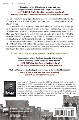 libro the last punisher: a seal team three sniper's true acc