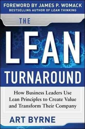 libro the lean turnaround: how business leaders use lean pri