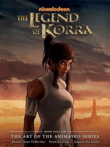 libro the legend of korra the art of the animated 1: air