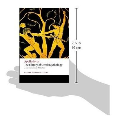 libro the library of greek mythology - nuevo