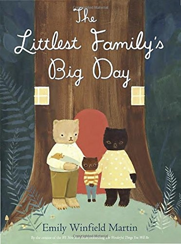 libro the littlest family's big day - nuevo