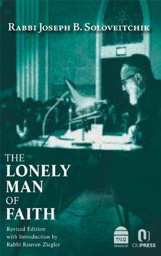 libro the lonely man of faith - nuevo