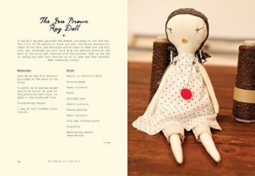 libro the making of a rag doll: design & sew modern heirloom