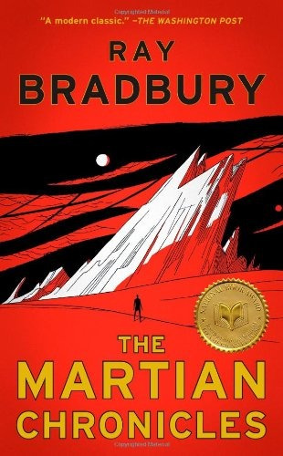 libro the martian chronicles - nuevo -