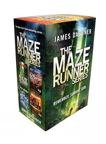 libro the maze runner (4 volume pack) - nuevo