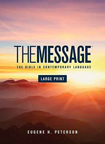libro the message bible - nuevo